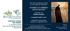carton Denise faucher-Baie St-Paul